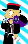 Plague doctor Alphys