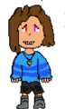 (newer)FandomTale Jamie Battle Sprite.png