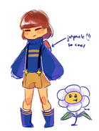 Outertale Frisk