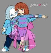 Dancetale sans x frisk wip by twinklii-dasmc53