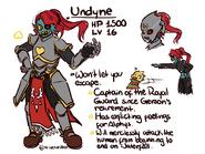 OW!Undyne