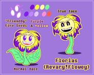 Revary!Flowey Ref