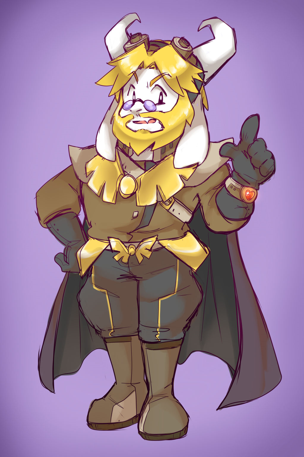 Underboom dr asgore by thegreatrouge-d9vr28q