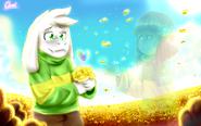 Glitchtale Asriel