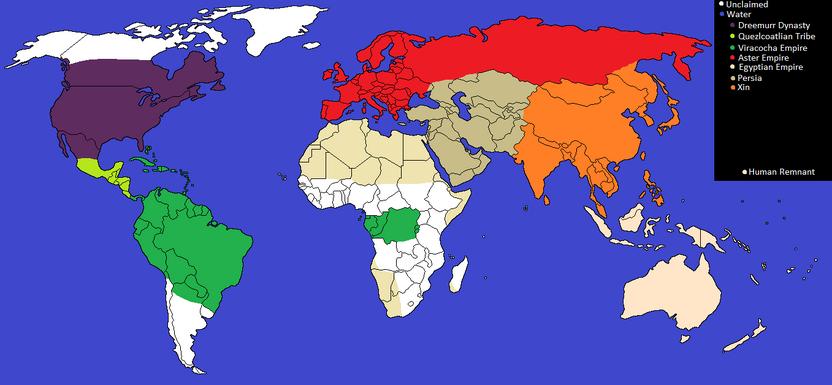 MonsterTale World Map