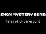 Pokemon Mystery Dungeon Tales of Undergrounds