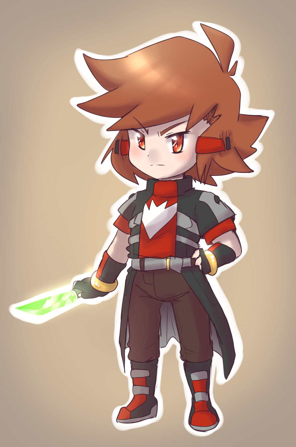 Underboom chara by thegreatrouge-d9vnvnp