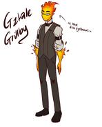 Grillby by golzyblazey-daqcgve
