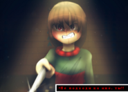 Angry Chara