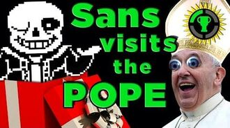Game Theory- Why I Gave the Pope UNDERTALE!