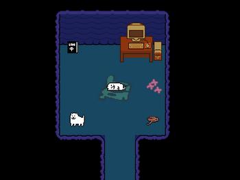 扉の奥の部屋