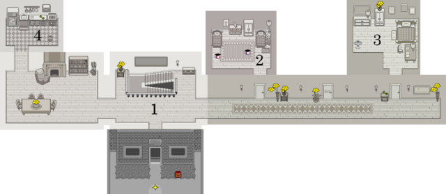 Asgore's Home map