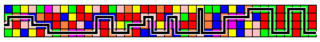 Multicolor Tile Puzzle solution