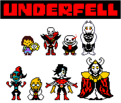 Underfell Characters