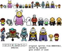 Personajes de Underswap