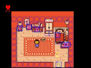 Room asrielroom