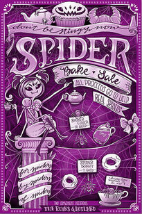 Product UT spiderbakesale poster