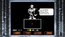 Undertale screen DE 1