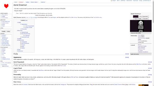 Wake english undertale wiki inside