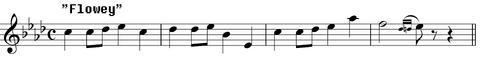 Flowey leitmotif
