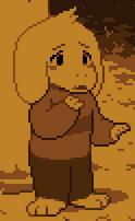 Asriel Dreemurr screenshot cutscene
