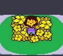 Goldene Blumen