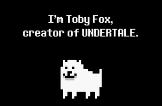 Toby fox greenlight