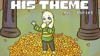 【Undertale】His Theme Ver. Asriel (Lyric Comic)