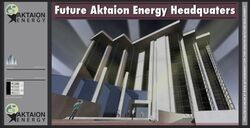 Aktaion Energy streetsign