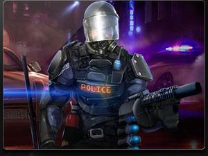 Boss banner police
