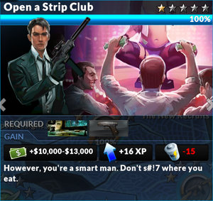 Job open a strip club