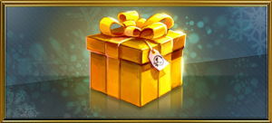 Item gold present