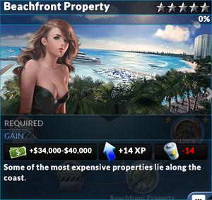 Job beachfront property