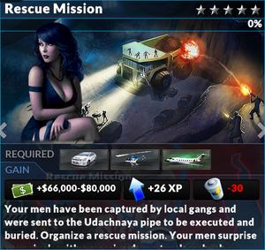 Job rescue mission