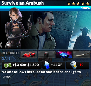 Job survive an ambush