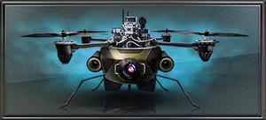 Item spy drone