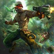 Lieutenant junglestalker saw
