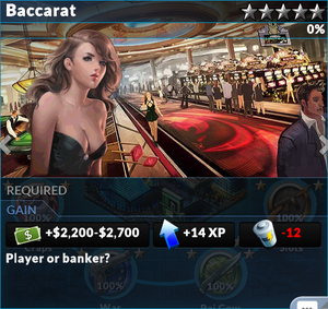 Job baccarat
