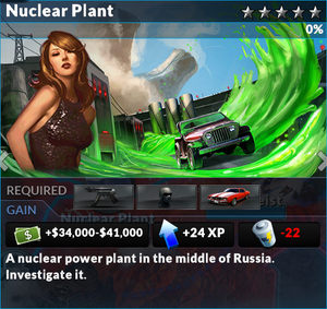 Job nuclear plant