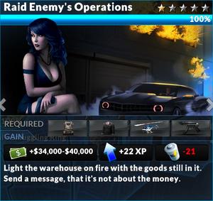 Job raid enemys operations