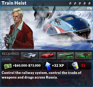 Job train heist