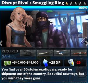 Job disrupt rivals smuggling ring