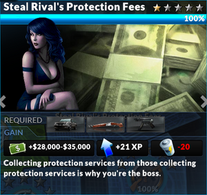 Job steal rivals protection fees
