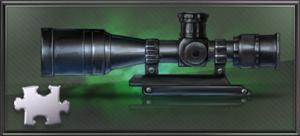 Item scope gun part