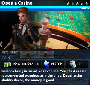 Job open a casino