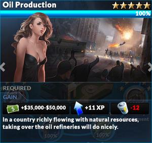 Job oil production