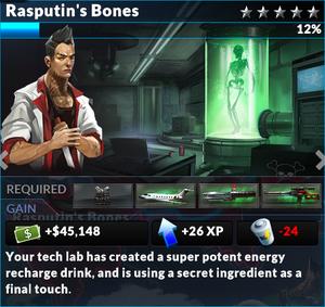 Job rasputins bones