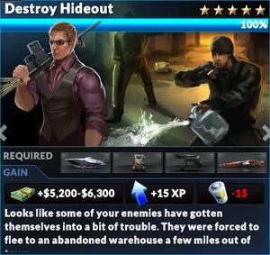Job destroy hideout