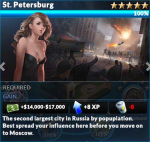Job st petersburg