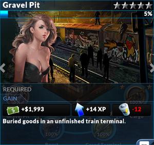 Job gravel pit